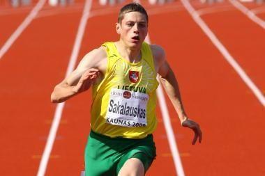 Sprinteris R.Sakalauskas pasiekė nestandartinės distancijos pasaulio rekordą