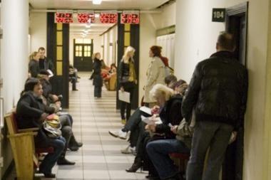 Darbo birža sulaukia vis daugiau klientų