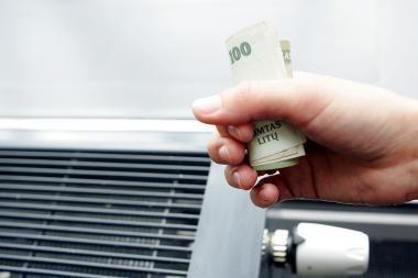 80 proc. šalies gyventojų nesiėmė jokių veiksmų mažinti išlaidas būsto šildymui