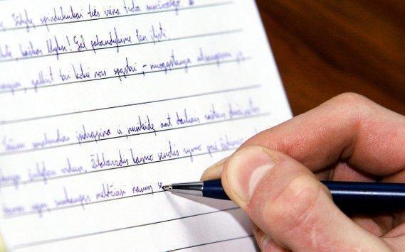 Vokiečiai sukūrė rašiklį, perspėjantį apie padarytas rašybos klaidas