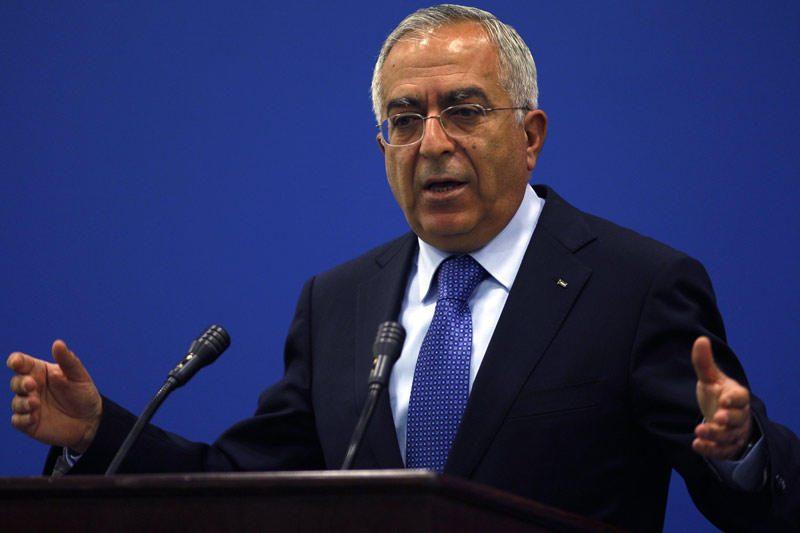 Palestiniečių premjeras S.Fayyadas po ginčų su M.Abbasu atsistatydino