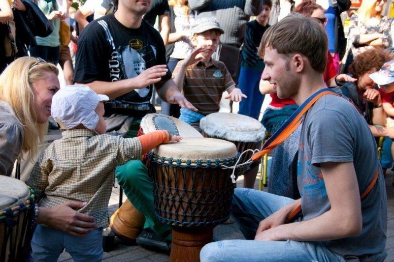 """Tarptautinis būgnų ir perkusijos festivalis """"Vilnius 2013"""""""