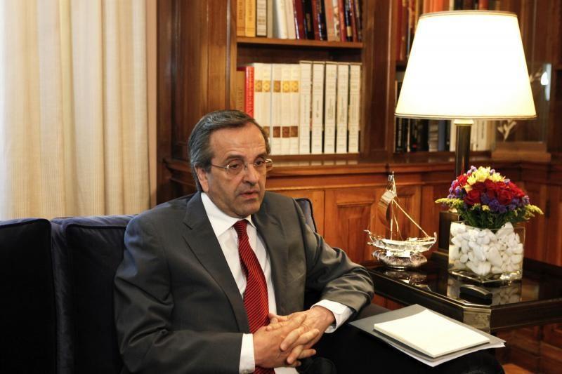 """Graikijai reikia """"skausmingo"""" išlaidų mažinimo, sako šalies premjeras"""