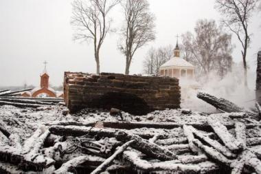 Gaisrą Labanoro bažnyčioje tiriantys prokurorai teisinės pagalbos tikisi iš Rusijos