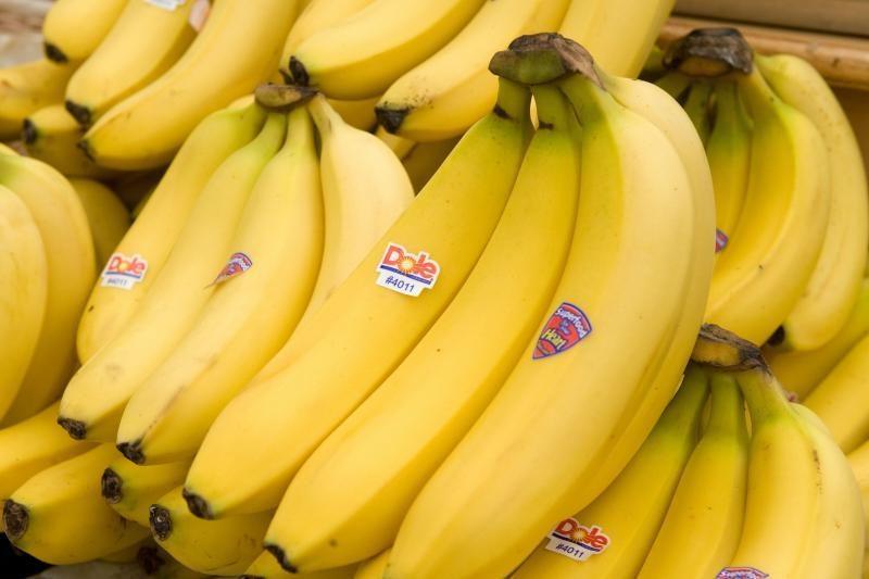 Bananų siuntoje rastas didelis kiekis kokaino