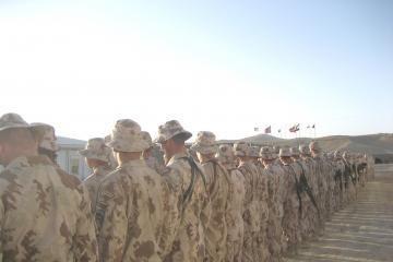 Afganistane pasikeitė lietuvių logistinės paramos būrys