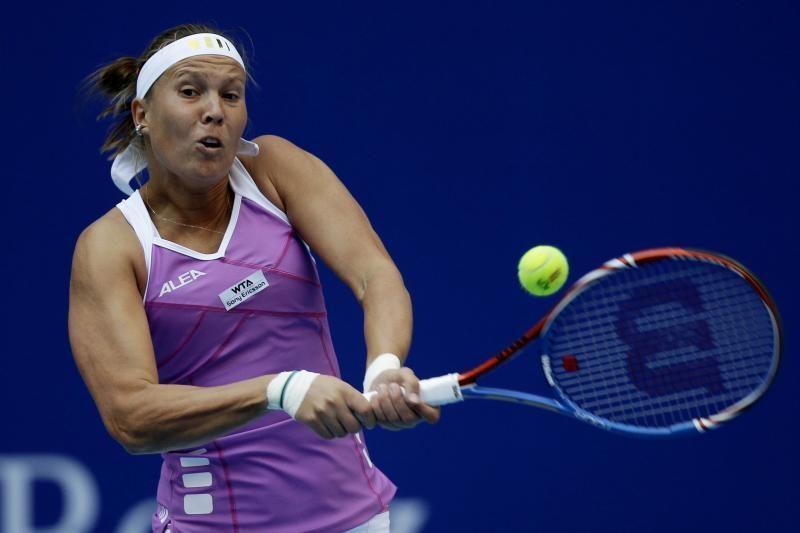 WTA serijos turnyre - daug netikėtų rezultatų