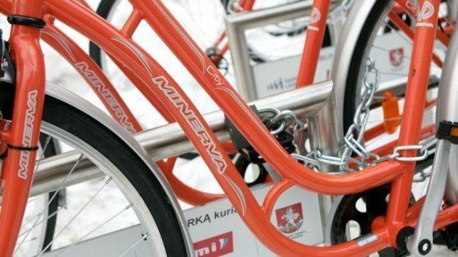 Vilniaus valdžia nutarė, kiek kainuos oranžinių dviračių nuoma