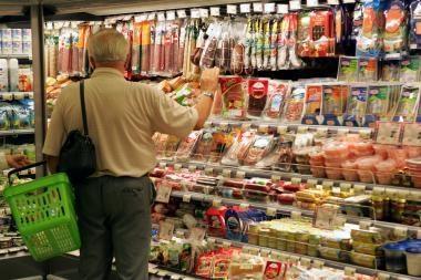 Didžiausią įtaką infliacijai turės augančios maisto kainos