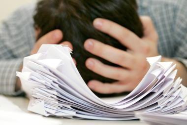 Šiemet abiturientai perlaikyti egzaminų negalės