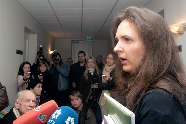 E.Kusaitė apskundė nutartį ją suimti