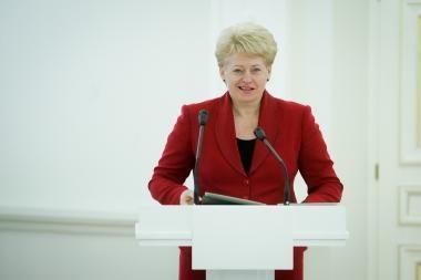 D.Grybauskaitė metinį pranešimą skaitys 1,5 mėnesio vėliau nei įprasta