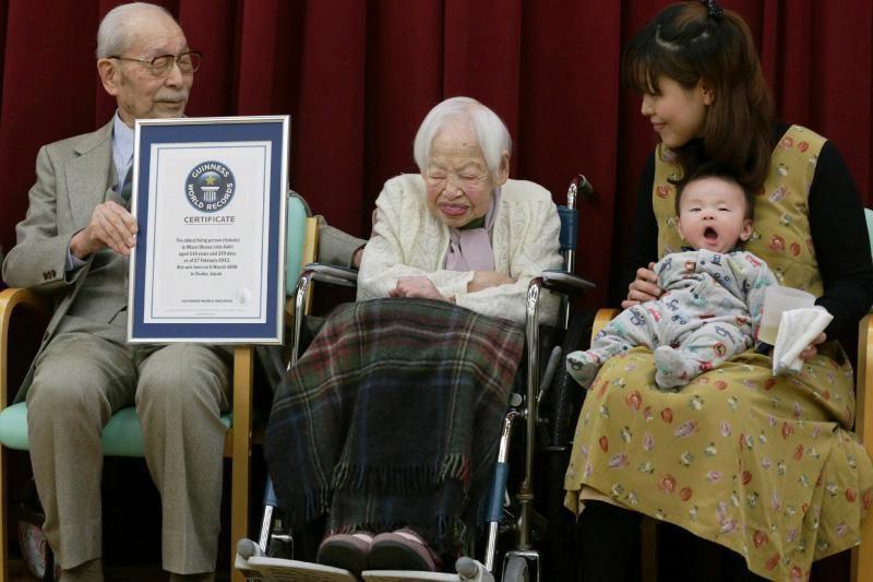 Seniausia pasaulio moteris 115-ąjį gimtadienį atšventė su sušiais