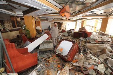Pakistano vadovai išvengė teroristų smūgio (video)