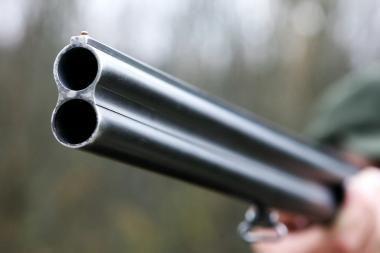 Kretingiškis grasino žmonai medžiokliniu šautuvu