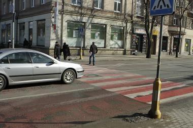 Nublukusias Klaipėdos perėjas atnaujins atšilus