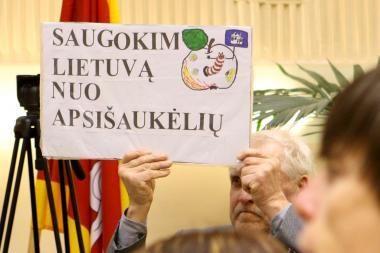 A.Garbaravičius: iš anksto nulemtas biudžeto nevykdymas