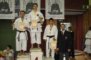 Šotokan karatė meistrai - tarp medalininkų