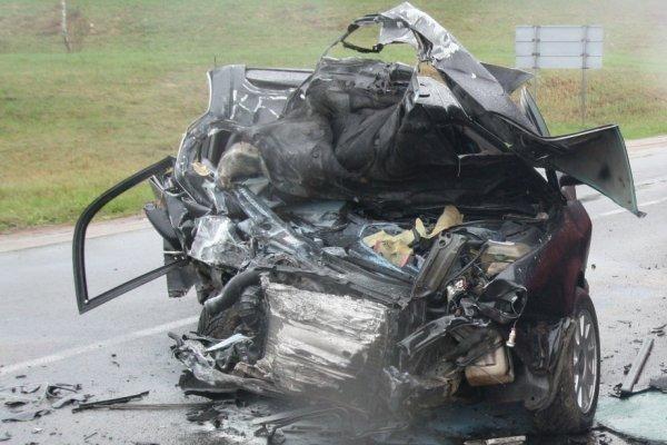 Šalčininkų rajone per avariją žuvo du vyriškiai