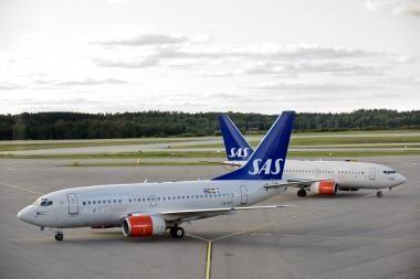 SAS dažniau skraidys iš Palangos į Kopenhagą