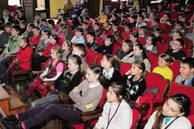 Vaikai Vilniaus universitete aiškinosi smalsumo paslaptį