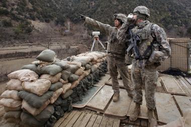 Afganistane verda mūšiai