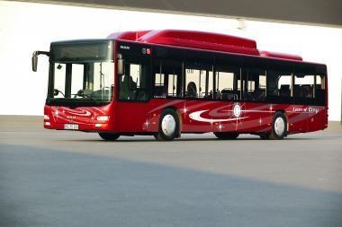 Lietuvoje pristatytas dujinis MAN autobusas