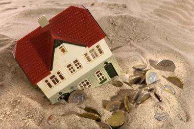 Nekilnojamojo turto pirkėjai atsiskaito be kreditų