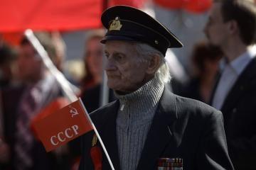 Rusijos komunistai: myliu savo tėvynę Tarybų Lietuvą