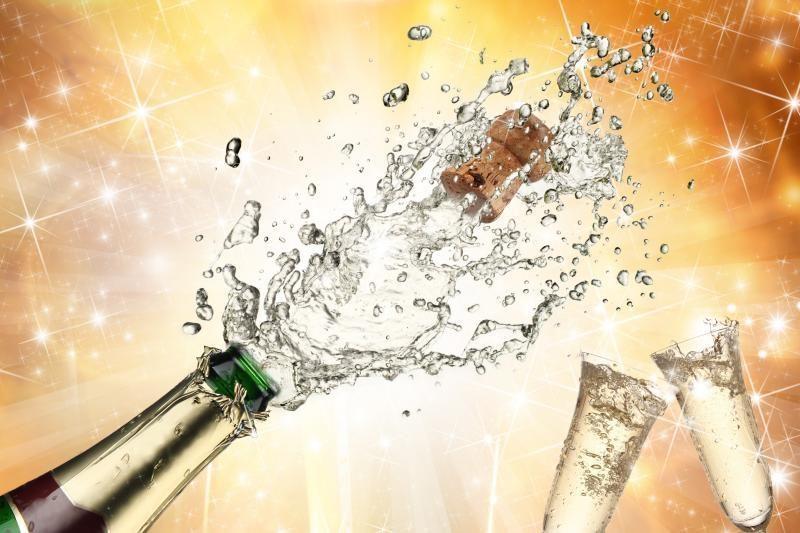 Rimtą traumą klaipėdiečiui prišaukė šampano butelis