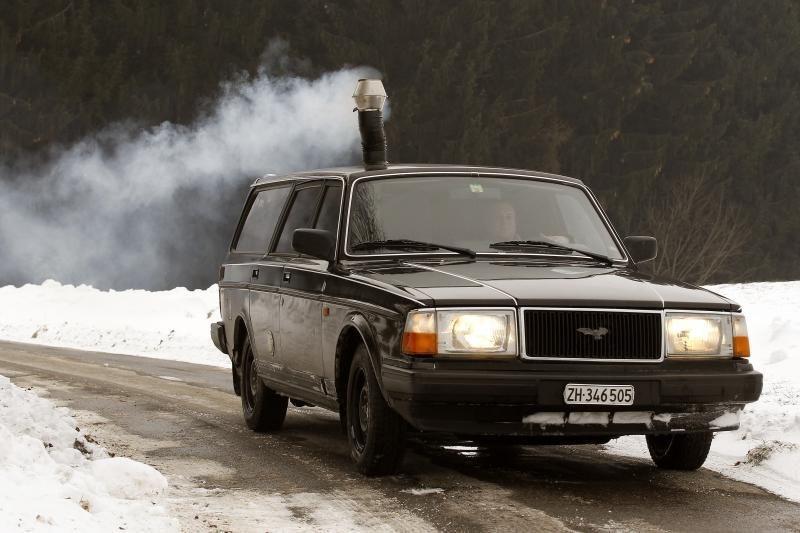 Automobilyje - krosnis apsiginti nuo šalčių