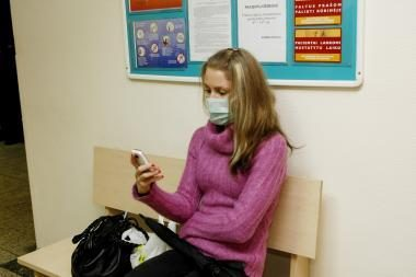 Klaipėdoje gripo atvejų padaugėjo