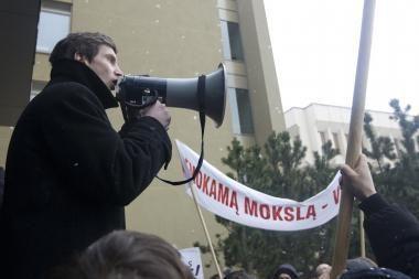 """Studentai atsisakė """"frontininkų"""" paslaugų"""