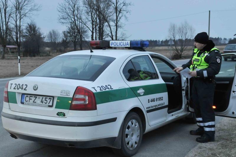 Saugaus eismo dieną  policija prašo vairuotojų saugoti save ir kitus