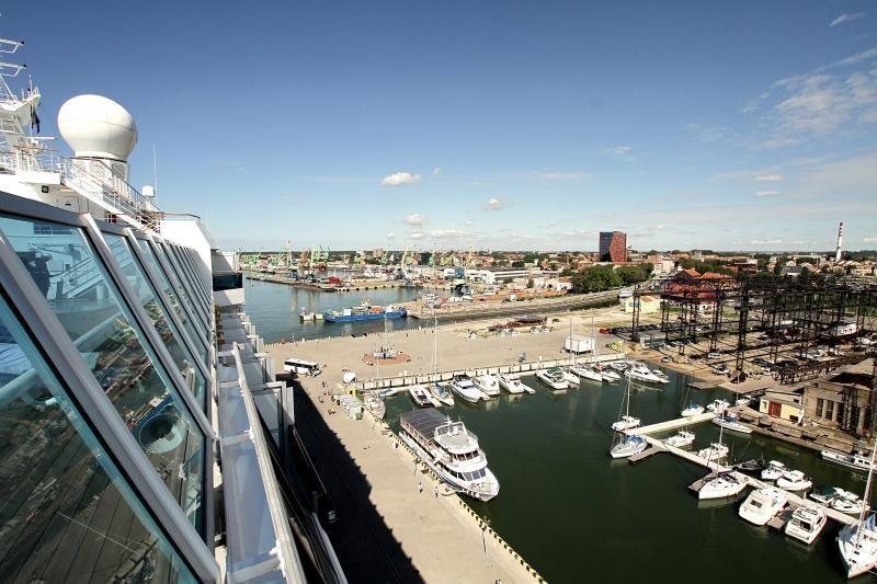 Kruizinė laivyba Klaipėdoje vėl teikia vilčių