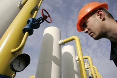 Rusija dujų eksportą pernai sumažino 14 proc.