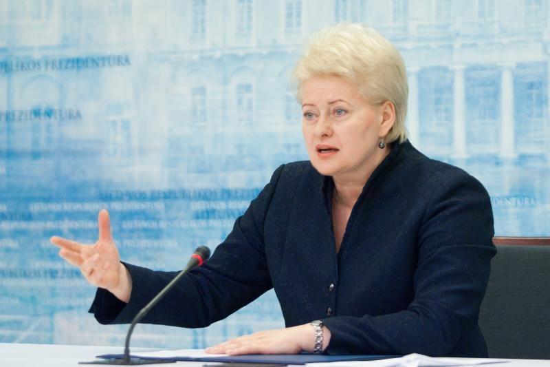 """D.Grybauskaitė: """"Snorą"""" sunku pavadinti lietuvišku banku"""