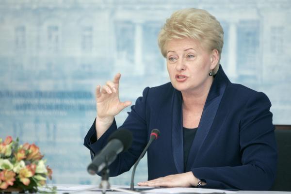 D.Grybauskaitė: Lietuvos-Lenkijos santykiai stiprės