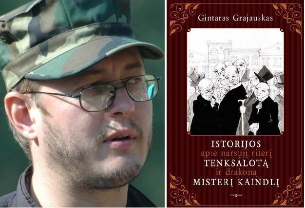 Rašytojas Gintaras Grajauskas pristatys savo naują knygą