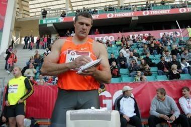 V.Alekna pagerino asmeninį šio sezono rekordą