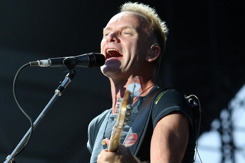 Dainininkas Stingas simfoninę lyriką iškeitė į roko energiją