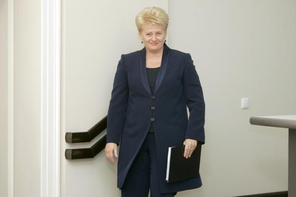 D.Grybauskaitė: užsienio šalių vadovų vizitai į Lietuvą – nebūtini
