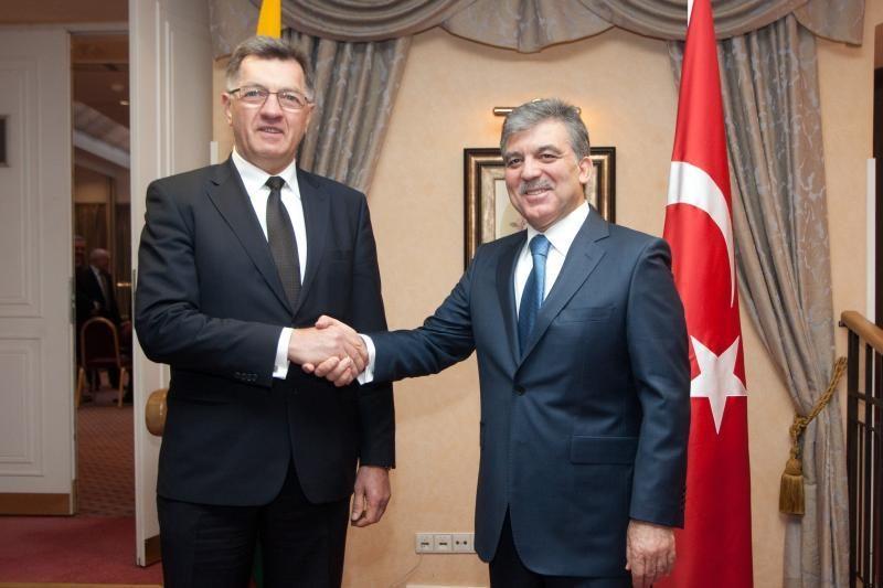 A. Butkevičius ir A. Gülas aptarė dvišalius ekonominius santykius