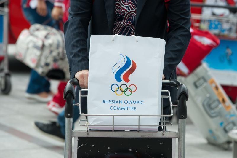 Londono Hitrou oro uostą apgulė išvykstantys olimpiečiai