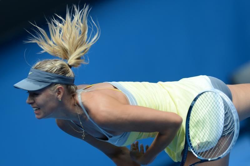 """M. Šarapova neturėjo vargo ir antrajame """"Australian open"""" rate"""