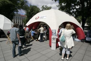 Vilniaus centre – neatlygintina kraujo donorystės akcija