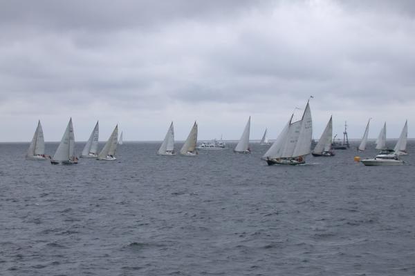 Rusų regata finišuos Klaipėdoje