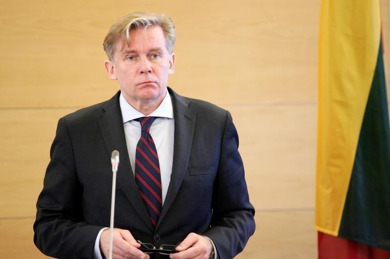 A.Ažubalis: sankcijos Baltarusijos įmonėms nepaveiks eilinių piliečių