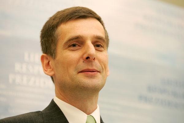 Prisiekė VSD generalinis direktorius G.Grina
