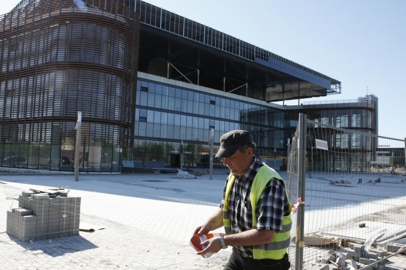 Arenos statybos: Klaipėdos savivaldybė ims dar vieną paskolą